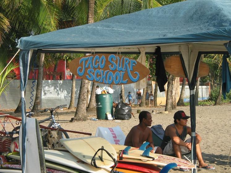 Surfing School found on the Local Beach
