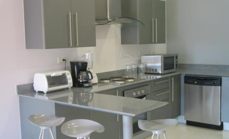 Kitchen also has a Built in Breakfast Bar