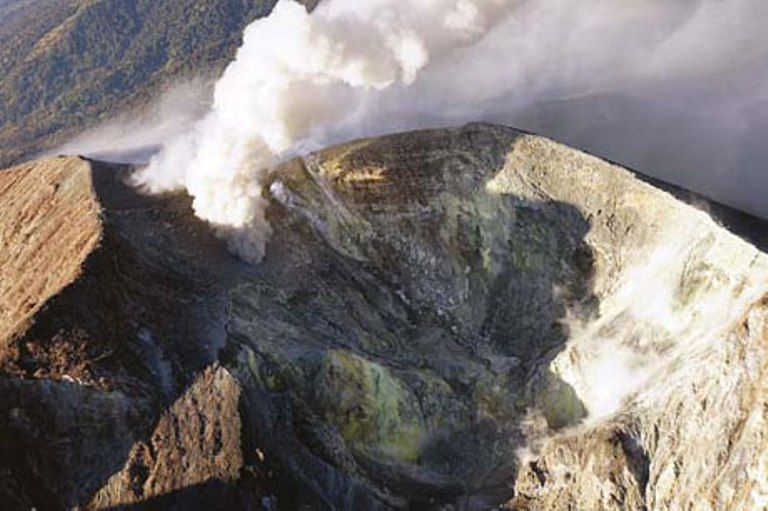 The Turrialba Volcano